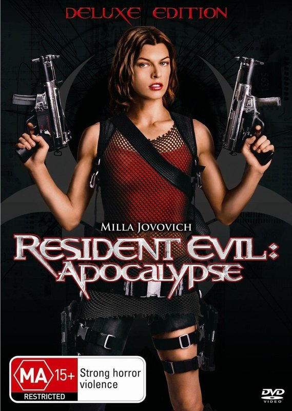 Resident Evil - Apocalypse: Deluxe Edition on DVD