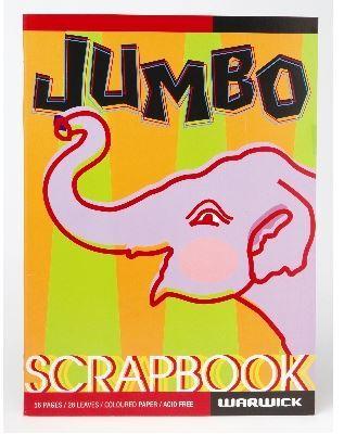 Warwick 60gsm Jumbo Scrapbook