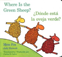 Donde Esta La Oveja Verde?/Where Is the Green Sheep? by Mem Fox