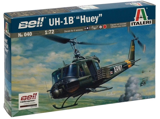 Italeri: 1/72 UH-1B Huey - Model Kit image