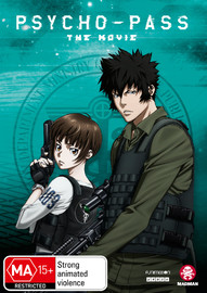 Psycho-Pass The Movie on DVD