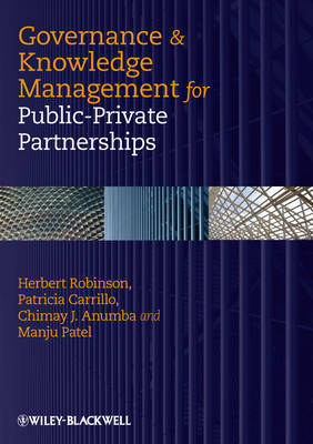 Governance and Knowledge Management for Public-Private Partnerships by Herbert Robinson image