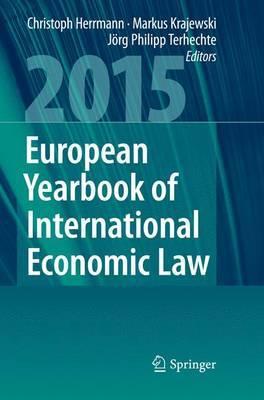 European Yearbook of International Economic Law 2015 image