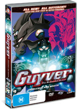 Guyver - The Bioboosted Armor: Vol. 4 - Innocence And Wrath on DVD