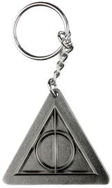 Harry Potter: Deathly Hallows Pewter Keychain