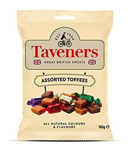Taveners Great British Sweets Assorted Toffees (165g) image