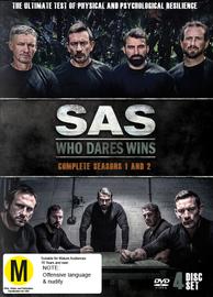 SAS: Who Dares Wins - Season 1-2 on DVD