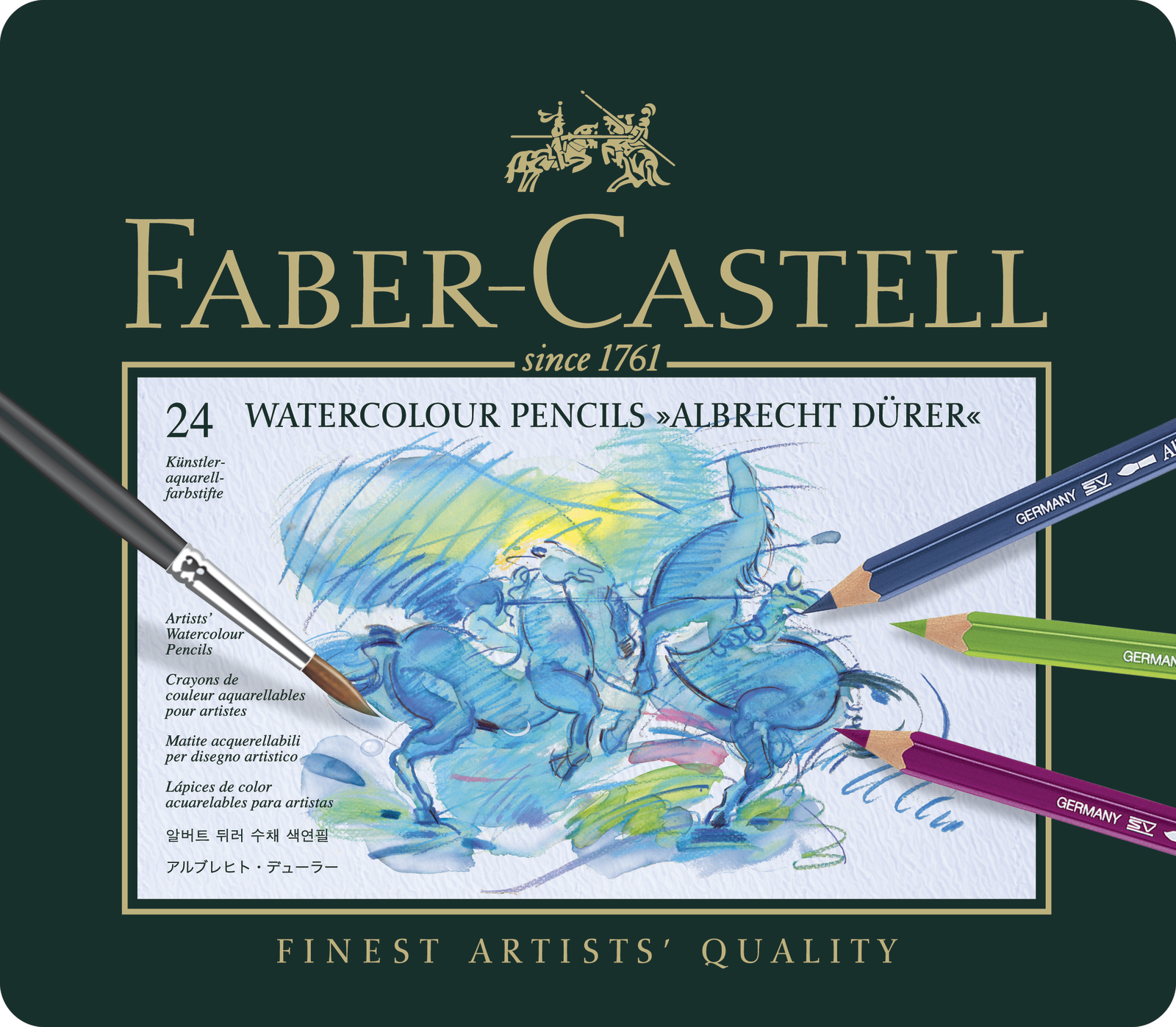 Faber-Castell: Albrecht Durer Pencil (Tin of 24) image