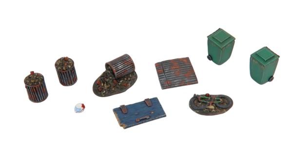 TTCombat: Tabletop Scenics - Back Alley Accessories 4