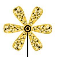 Bees Wood Pinwheel