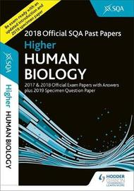 Higher Human Biology 2018-19 SQA Specimen and Past Papers with Answers by SQA image