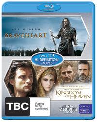 Kingdom of Heaven / Braveheart (2 Disc Set) on Blu-ray