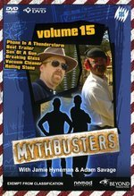 Mythbusters - Vol. 15 on DVD
