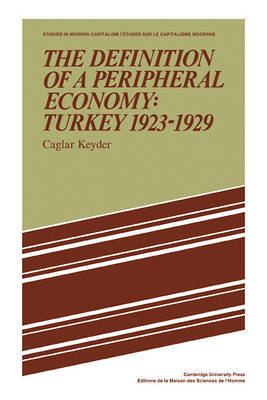 The Definition of a Peripheral Economy: Turkey 1923-1929 by Caglar Keyder image