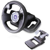Saitek R220 Plug-and-Play Wheel