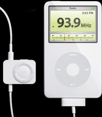 Apple - iPod Radio Remote (iPod nano & 5th Gen iPod)