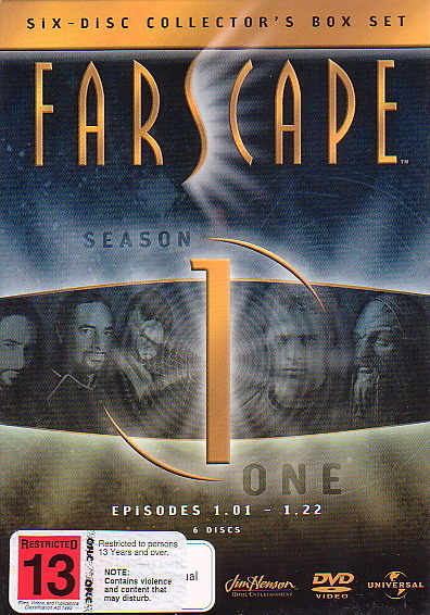 Farscape - Season 1 (6 Disc Slimline Set) on DVD