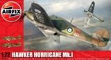 Airfix Hurricane Mk1 - Pre War 1:72 model kit