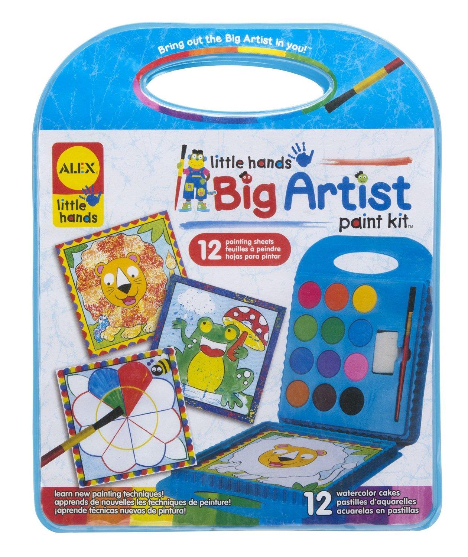 Alex: Little Hands - Big Artist Series Paint Kit image