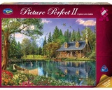 Holdson: 1000pce Puzzles - Picture Perfect Crystal Lake Cabin