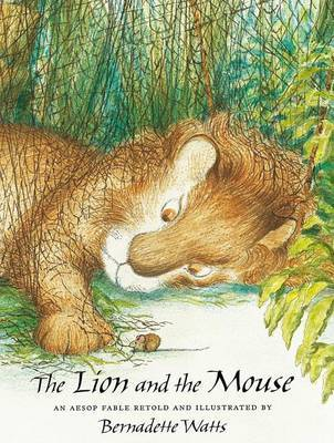 The Lion and the Mouse by . Aesop image