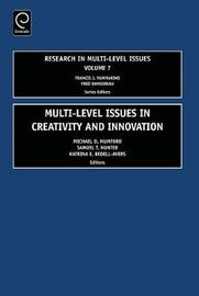 Multi Level Issues in Creativity and Innovation image