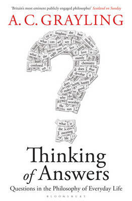 Thinking of Answers by A.C. Grayling image