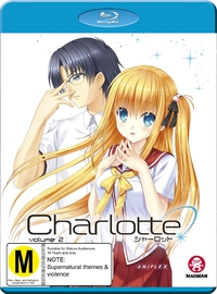 Charlotte: Volume 2 - (Episodes 8-13) on Blu-ray