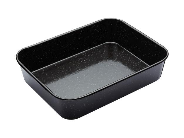 MasterClass: Pro Vitreous Enamel Roasting Pan (34x26cm)