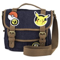 Loungefly: Pokemon Pikachu (Patches) - Crossbody Bag