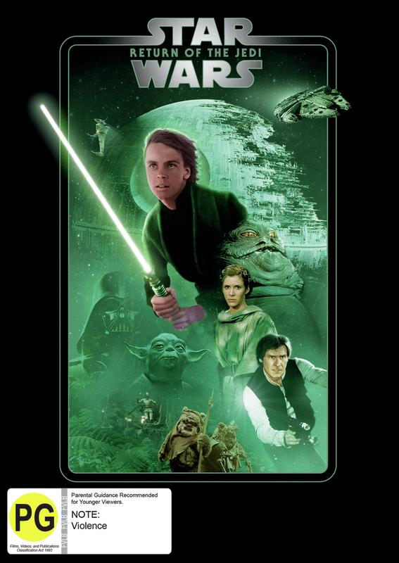 Star Wars: Episode VI - Return of the Jedi on DVD