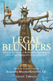 Legal Blunders by Geoff Tibballs image