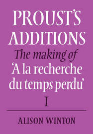 Proust's Additions by Alison Winton image
