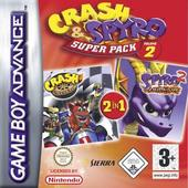 Crash And Spyro Super Pack Vol 2 (NitroKart & Season of Flame) for Game Boy Advance