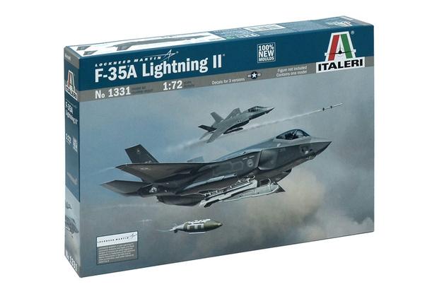 Italeri F - 35A Lightning ll 1/72 Model Kit