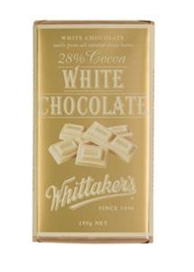 Whittakers White Chocolate Block (250g)