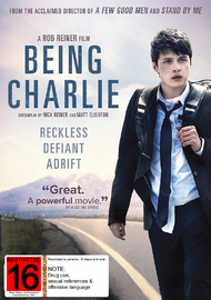 Being Charlie on DVD image