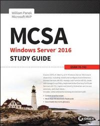 MCSA Windows Server 2016 Study Guide: Exam 70-742 by William Panek image