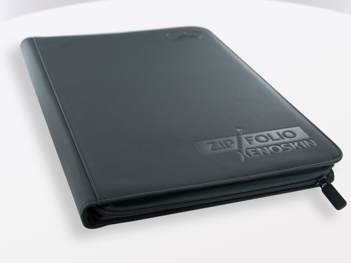 Ultimate Guard: 9-Pocket XenoSkin ZipFolio (Black) image