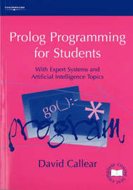 Prolog Programming for Students by David Callear image