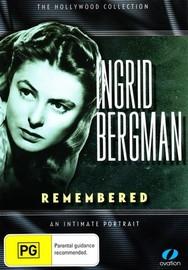 Ingrid Bergman - Remembered on DVD