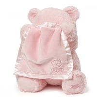 Gund: My First Teddy - Peek A Boo Plush (Pink) image