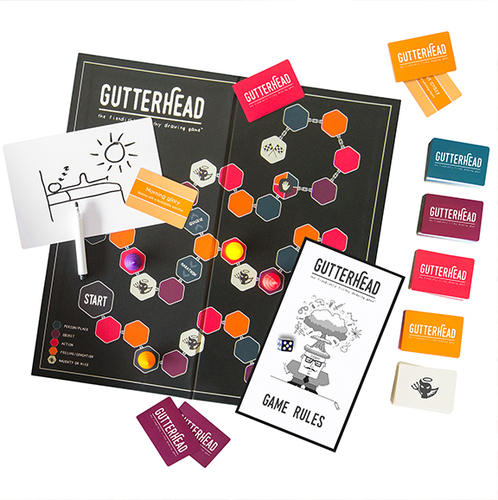 Gutterhead - The Fiendishly Filthy Drawing Game image