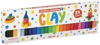 Toysmith: Rainbow Clay - (24 Pack)