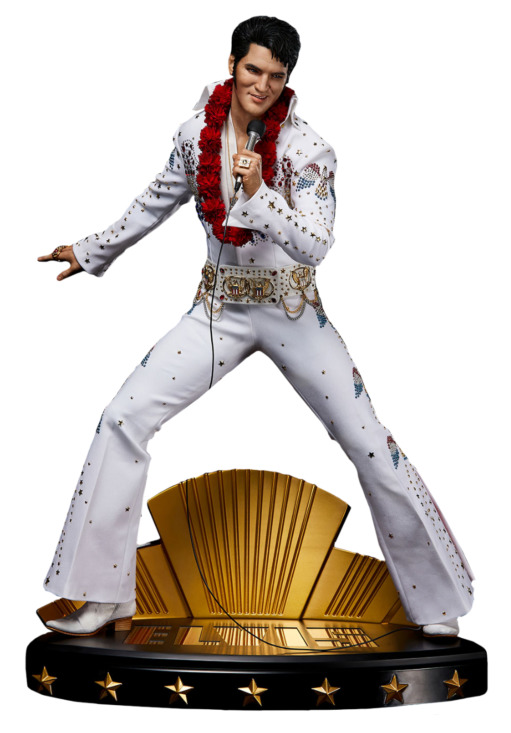 """Elvis Presley: Elvis Aaron Presley - 20"""" Superb Scale Statue"""