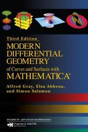 Modern Differential Geometry of Curves and Surfaces with Mathematica by Elsa Abbena