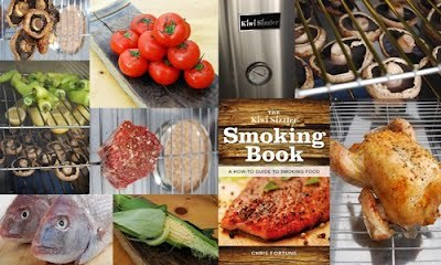 Kiwi Sizzler Smoking Book: A How-To Guide To Smoking Food by Chris Fortune image