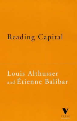 """Reading """"Capital"""" by Louis Althusser"""
