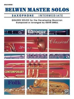 Belwin Master Solos (Alto Saxophone), Vol 1