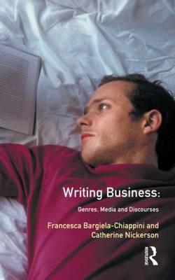 Writing Business by Francesca Bargiela-Chiappini image